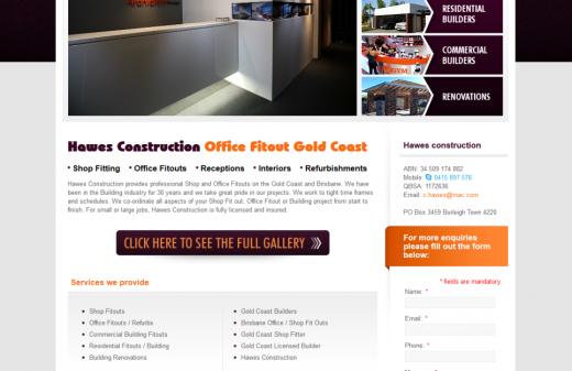 Office Fit Out Gold Coast - Hawed Construction